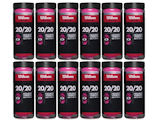 Wilson 20/20 3 Ball 1/2 Case of Racquetballs (12 cans)