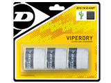 Dunlop ViperDry White Overgrip (3-Pack)