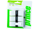 Prince MicroZorb White Overgrip 3 Pack